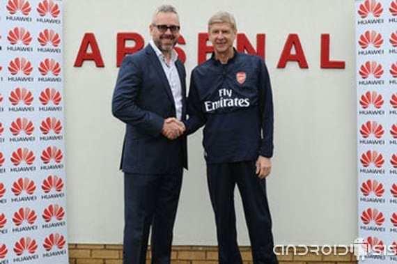 arsenal f c y huawei unidos de la mano hasta el 2016 Arsenal F.C. y Huawei unidos de la mano hasta el 2016