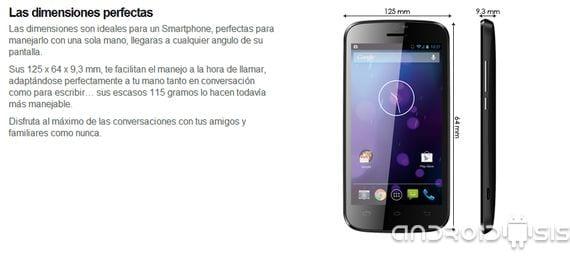 review max cuatro 3g un dispositivo android espanol de doble nucleo y android cuatro dos dos p dos Review MAX cuatro 3G un dispositivo Android® Español de doble núcleo y Android® 4.2.2 por 89 Euros