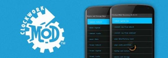 Clockworkmod Cómo borrar datos de la caché de una aplicación en Android