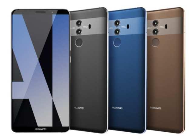Huawei Mate 10 Pro render