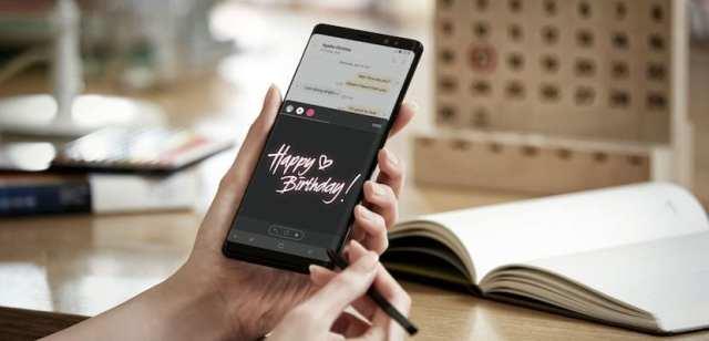 Cómo crear y enviar Live Messages desde el Samsung℗ Galaxy℗ Note 8