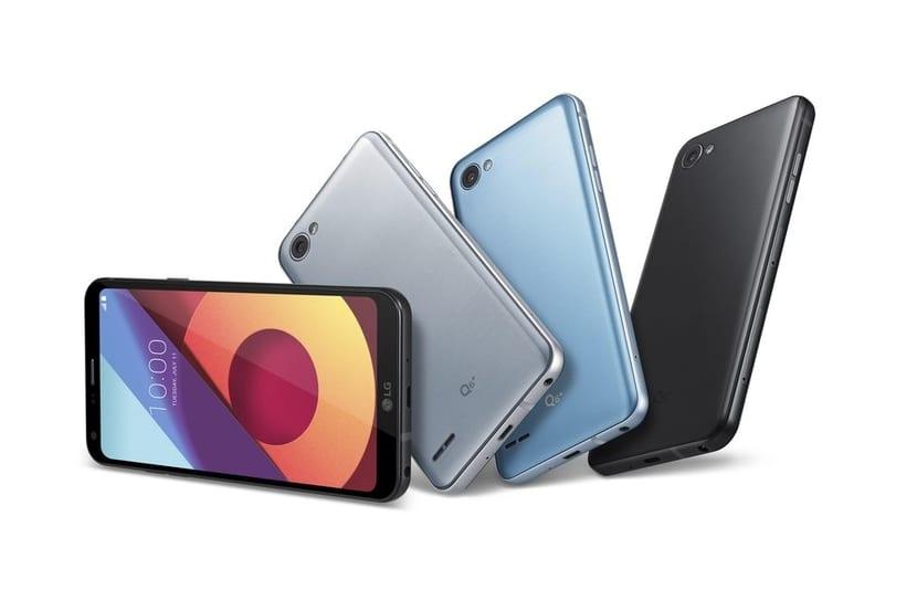 LG Q6 Plus y Q6 Alfa