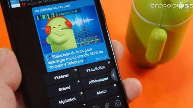 Los mejores bots para descargar música en Telegram