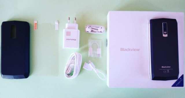 Blackview P10000 Pro contenido de la caja