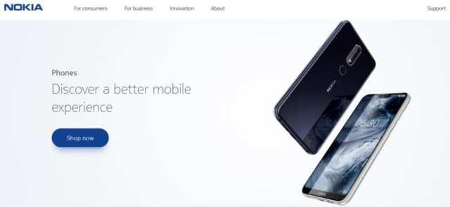 Nokia X6 Web