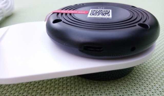 YI home camera puerto USB