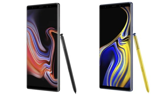 Samsung Galaxy℗ Note 9 en Orange