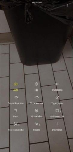 Grabación Super Slow Motion y AR Emojis para el Samsung℗ Galaxy℗ Note 8