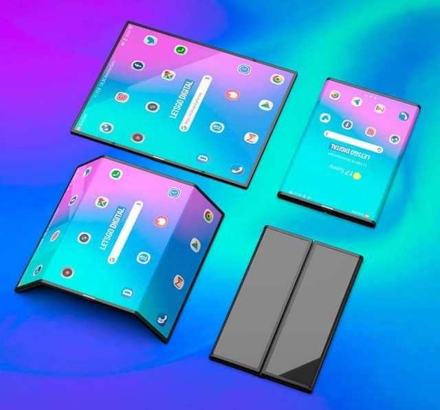 Móvil plegable doble de Xiaomi