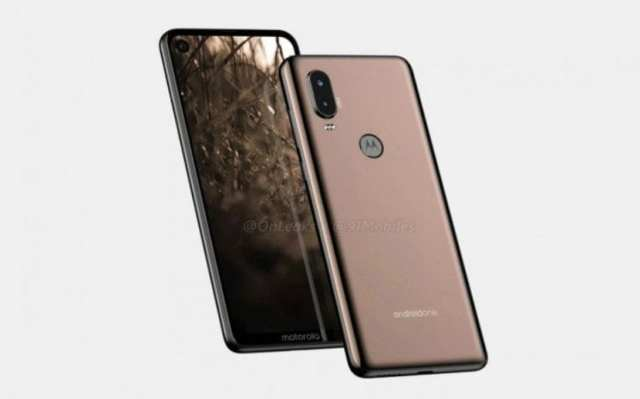 Motorola One Vision / P40 render