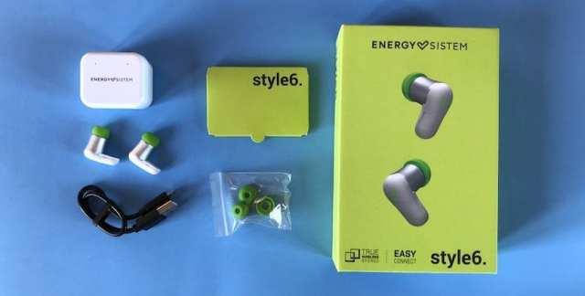 Energy Sistem Style 6 contenido caja