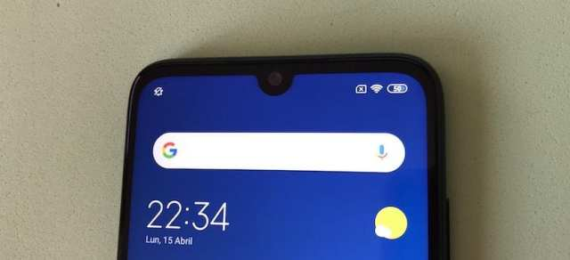Redmi Note 7 bordes pantalla