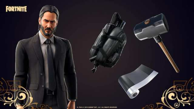 John Wick en Fortnite
