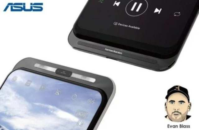 Smartphone Asus℗ con control deslizante