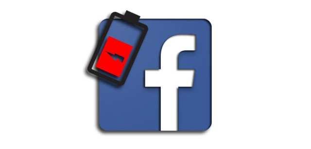 Facebook batería