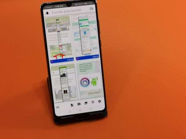 ¡¡Pedazo de APP para gestionar capturas de pantalla en Android!!