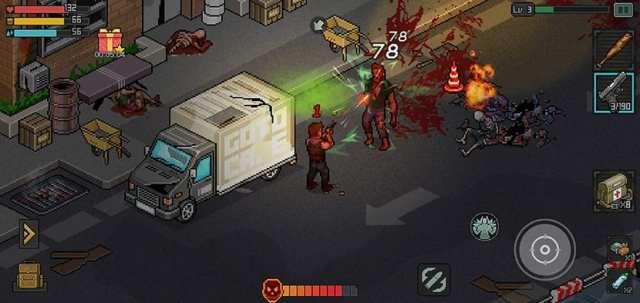 Jefe final en Fury Survivor Pixel Z