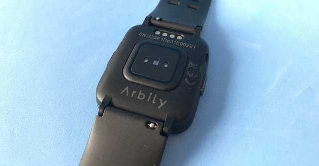 Reloj Arbily parte inferior