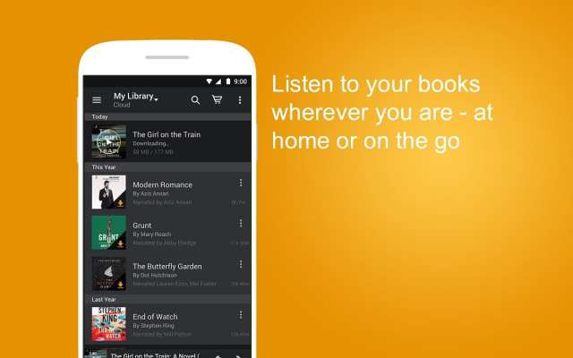 Android audiolibros