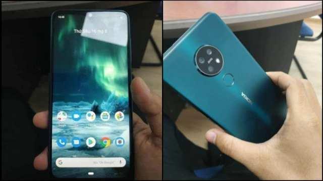 Nokia 7.2 diseño