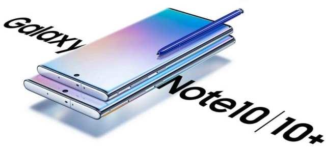diseño del Samsung℗ Galaxy℗ Note 10