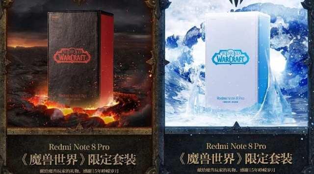 Redmi Note 8 Pro Edición limitada del World of Warcraft