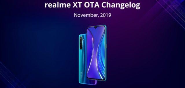 El Realme XT recibe una nueva actualización con el manera Nigthscape para la cámara frontal