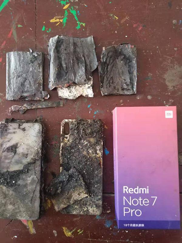 Redmi Note 7 Pro quemado