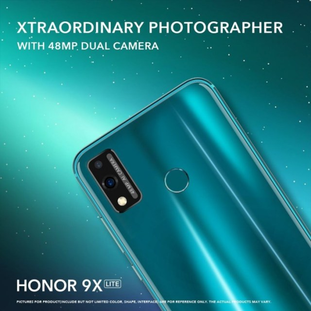 Honor 9X Lite filtrado