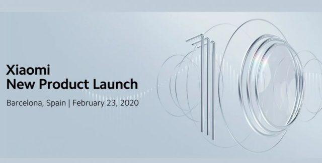 Fecha de lanzamiento oficial de la serie Xiaomi℗ Mi 10