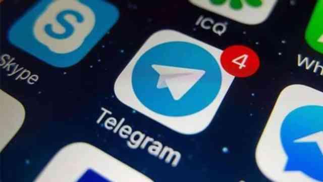Telegram mensajes