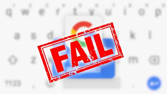 Fail Gboard