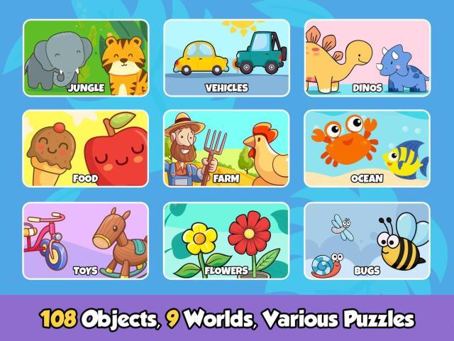 Toddler puzles