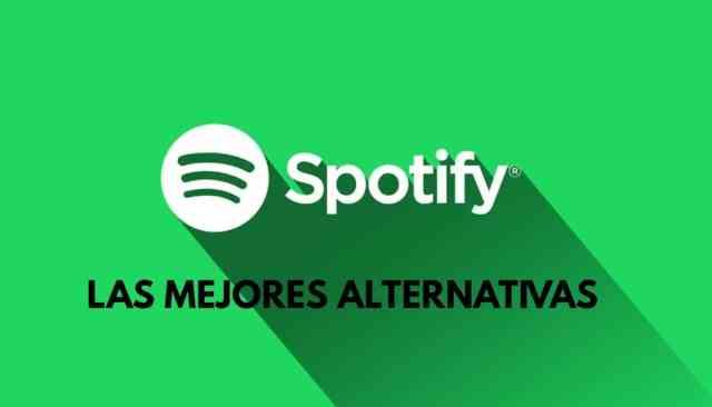 Spotify alternativas