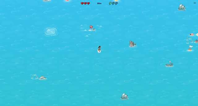 Microsoft Edge℗ juego oculto surf