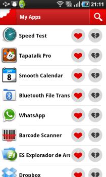 Chomp 2 Chomp, ya para Android. Un motor de búsqueda de Apps.
