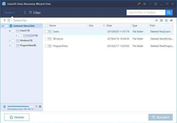 easeus harddrive recovery