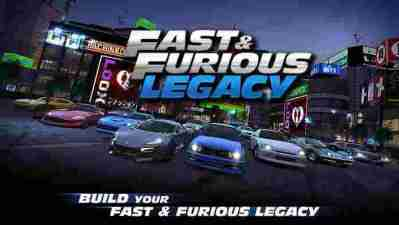 Fast & Furious: Legacy android hra