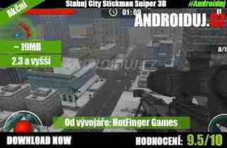 1- Stickman Sniper 3D ke stažení hra