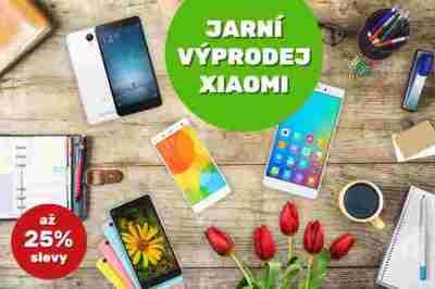 25% slevy   Jarní výprodej Xiaomi telefonů   novinky