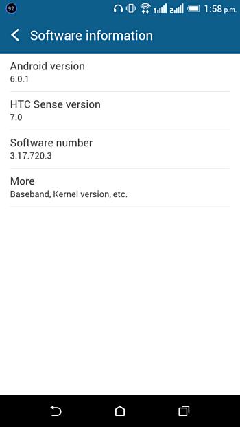 HTC Desire 820 dostává Android 6.0.1