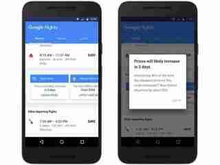 Google Flights aplikace zdarma