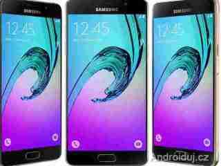 Vodě odolná série Samsung Galaxy A 2017   novinky
