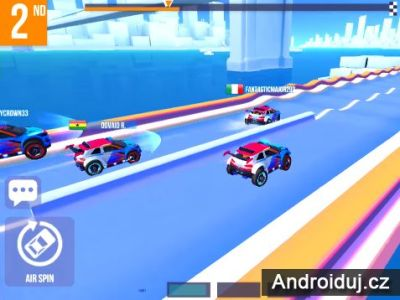 Hra na mobil SUP Multiplayer Racing