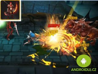 Android hra BLADE WARRIOR: 3D ACTION RPG