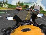 Závodní hra Moto Traffic Race 2. Zblázněte se v provozu.