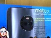 Hvězda Moto X (2017) v prezentaci se specifikacemi