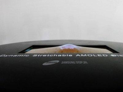 Samsung displej, který se bude dát roztáhnout