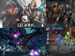 Hra na android telefony Aion legions