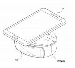 Nová Samsung bezdrátová nabíječka